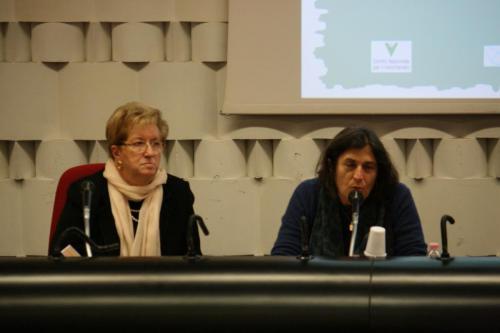 Gemma Del Carlo e Maria Teresa De Lauretis