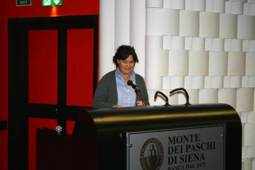 Stefania Saccardi - Assessore al Diritto alla Salute, al Welfare e all'integrazione socio-sanitaria Regione Toscana