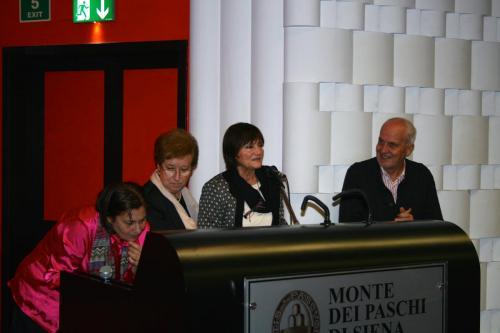 Manuela Sassi, Gemma Del Carlo, Marzia Fratti, Galileo Guidi