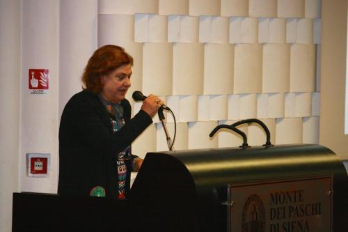 Ada Colapaoli - Pres. Associazione Familiari Salute Mentale Versilia